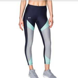 Under Armour Ankle Crop Tights Leggings Anti-Odor